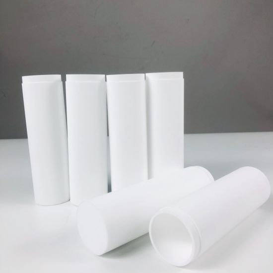 China Industrial Coolant Oil Filter 1000mm Plastic Porous Sintered Filter Tube With Polyethylene Pe Powder Media 10 Micron China Sintered Water Filter Cartridge Pe Water Cartridge Filter