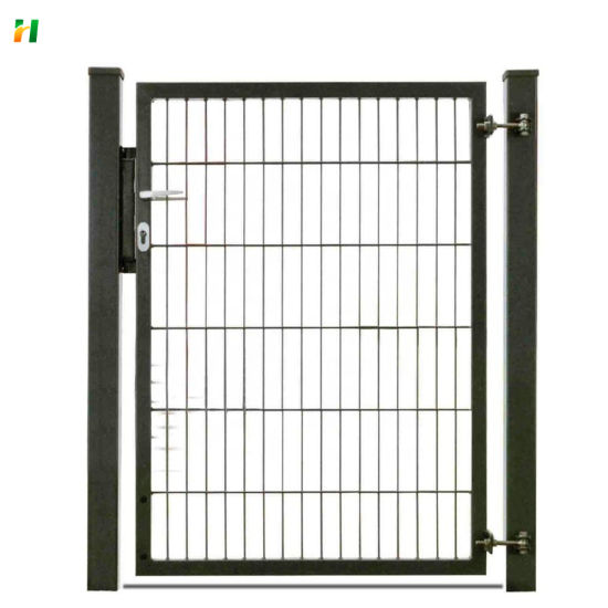 Hot Sale Powder Coated Beautiful Euro Design Garden Gate Fence Gate with Lock