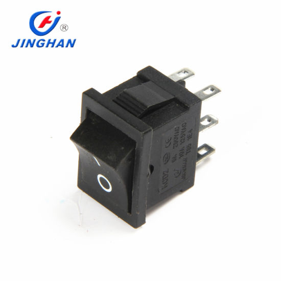 6 Pin on-on Square 19*13mm Electronic Mini Rocker Switch