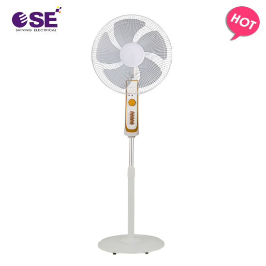 Made in China 50W 3 Speeds 16 Inch Stand Fan with Timer