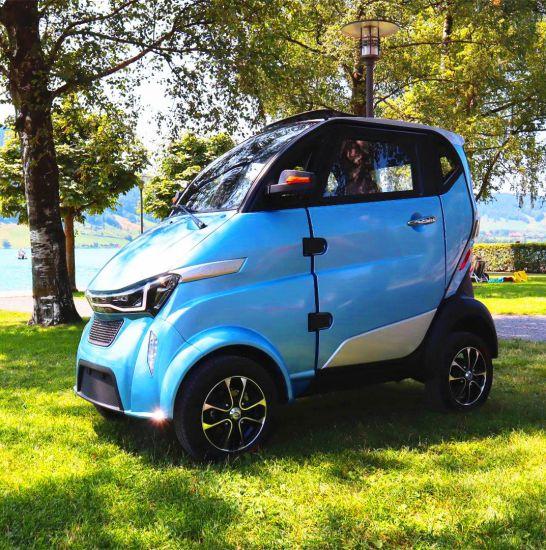 Mobility 3000W 100ah Li Battery Street Legal Electric Car with L6e Certificate