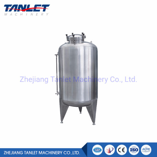 High Quality Storage Tank Stainless Steel Vertical Horizontal Storage Tank
