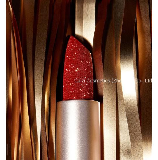 Hot-Selling Waterproof Wholesale Lipstick Customized Bling Bling Makeup Lipstick