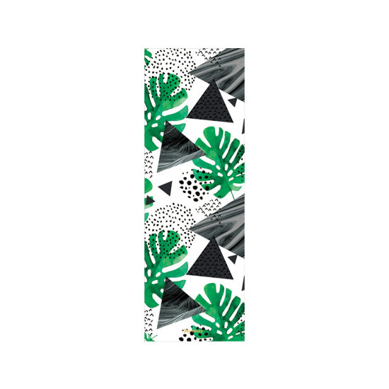 Wholesale OEM Non Slip Custom Printed Yoga Pilates Exercise Fitness Workout Gym Foldable Travel Suede Natural Rubber Eco Friendly Yoga Mat