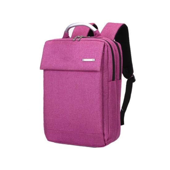 Girls Travel Back Pack Plum Waterproof Laptop Backpack for Woman