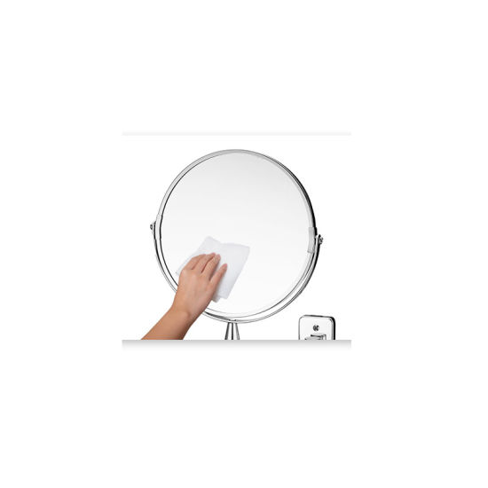 China Double Sided Folding Telescopic, Telescoping 5x Magnified Makeup Mirror