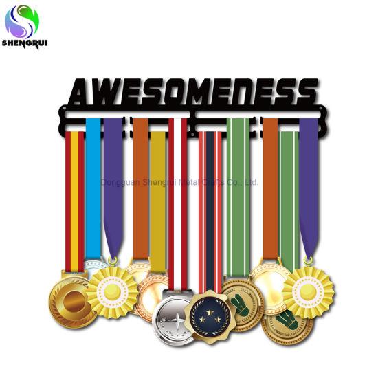 Personalized Sport Medal Display Holder Metal Medal Hanger for Sport Lovers Gift