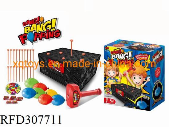 China Hot Selling Play Game Blast Box Tricky Boom Boom Balloon China Board Game And Balloon Play Set Price