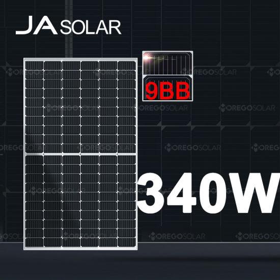 Ja Solar Modules Half Cut Monocrystalline Solar Panel 330W 325W 320W Solar Panel Price