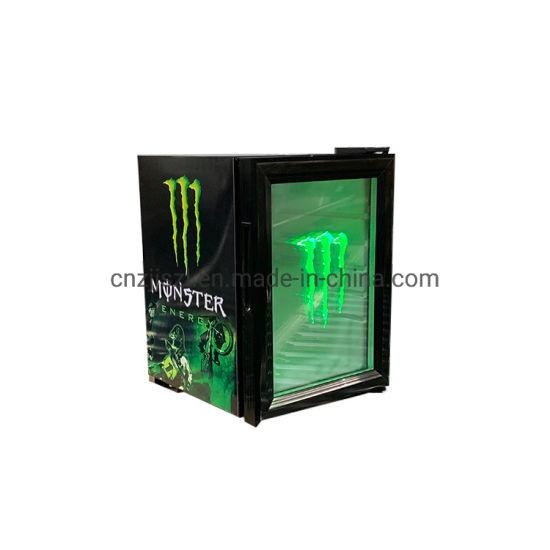 Counter Top Mini Beverage Display Cooler Showcase Sc-21