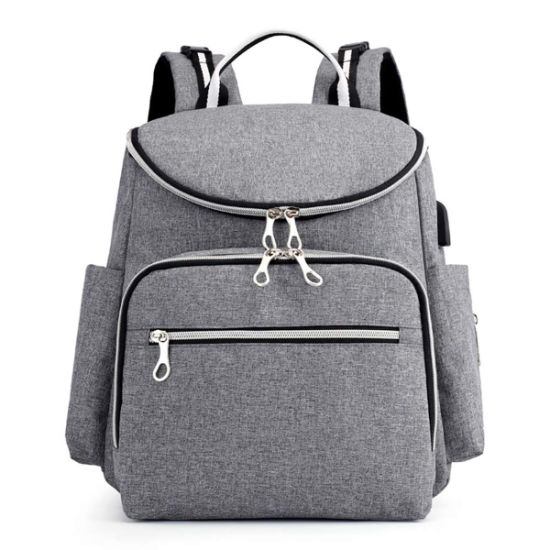 Baby Diaper Bag Backpack with Changing Pad and Insulated Cooler Pocket