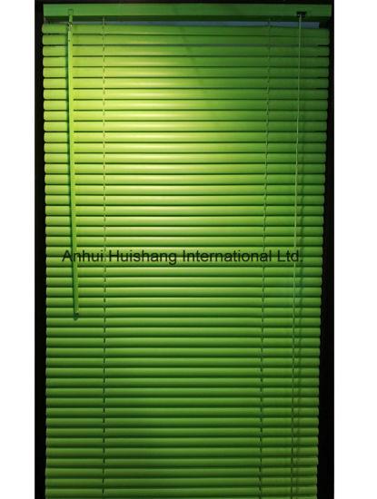 PVC Mini Venetian Blind as Window Curtains