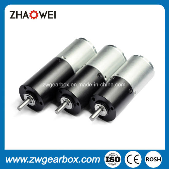 12V 24mm Low Rpm Electric Gear Motors pictures & photos