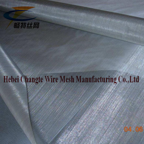 150 Mesh Plain Weave Stainless Steel Wire Mesh