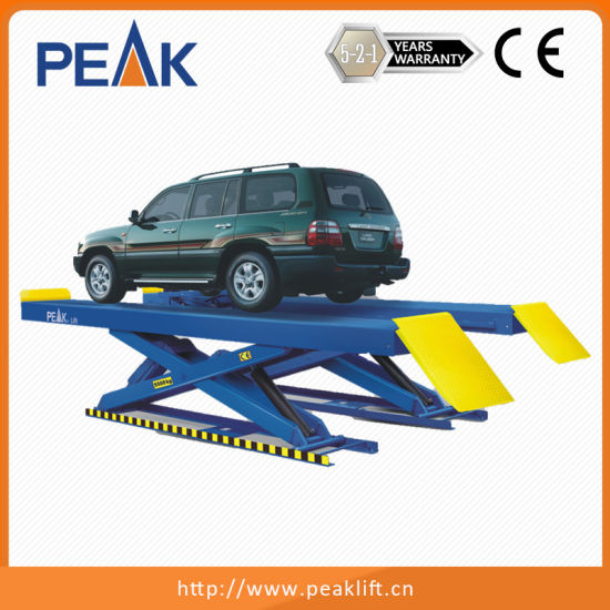 China Hydraulic Scissors Car Lifter with Electro-Air Control