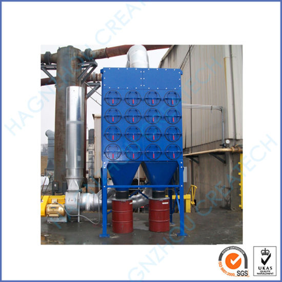 Aluminum Industrial Dust Collector System Automatic Cartridge Filter Machine