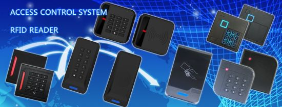 Weatherproof Passive RFID Proximity 125kHz Em Access Card Reader pictures & photos