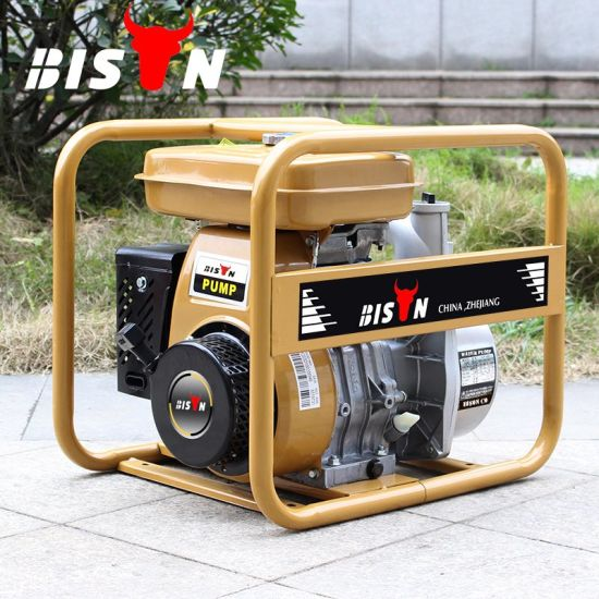 Bison (China) Bswp20r 2inch Experienced Supplier Long Run Time Reliable Factory Price Water Pump Gasoline