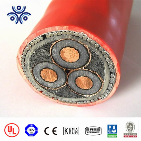 N2xsy 3.6/6 Kv XLPE Insulated Single -Core Cables with Copper Conductor -Medium Voltage Cables
