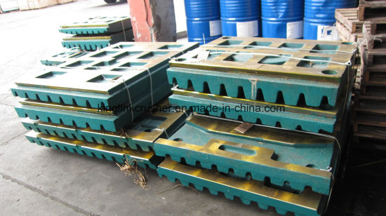 High Manganese Jaw Crusher Plates for Jaw Crushers pictures & photos