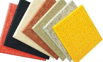 High Quality Sound Proof Polyester Fiber Acoustic Panel pictures & photos