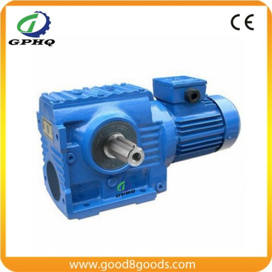 S Helical-Worm Gear Motor for Crane Right Angle Gearbox