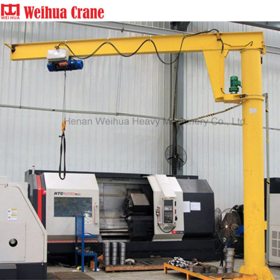 Weihua 1t 5ton Cantilever Swing Arm Unloading Jib Crane