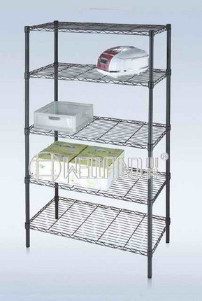 Popular Epoxy Finish Wire Shelving Units for Us EU Market pictures & photos