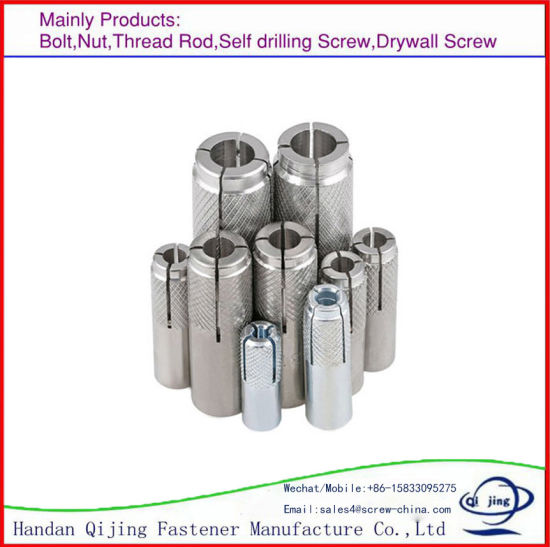 M16 Zinc Plated HDG Drop in Anchor Bolt