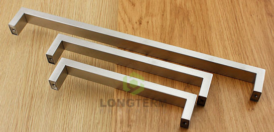 Strong Anti-Rust Modern Square Stainless Steel Furniture Kitchen Handles pictures & photos