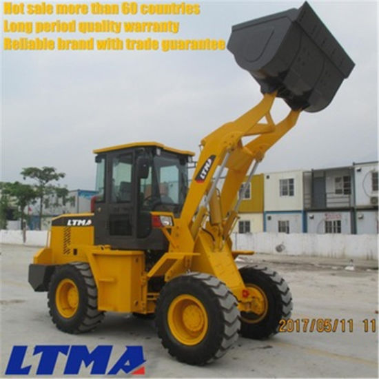 Competitive Prices 2 Ton Front End Loader with High Quality pictures & photos