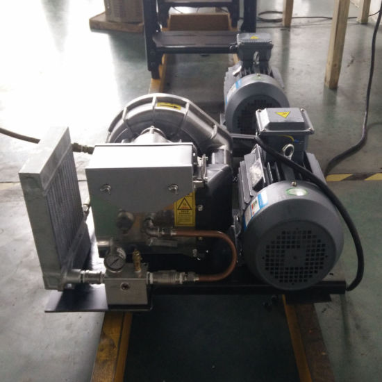 3.7kw Silent Belt Drive Oil Free Scroll Air Compressor pictures & photos