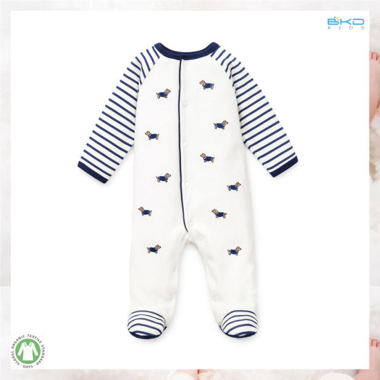New Design Bbay Clothes White Unisex Babies Romper