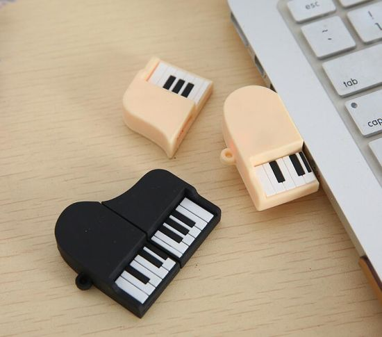 Creative Music Model Cartoon USB Stick PVC Violin Thumb Drive pictures & photos