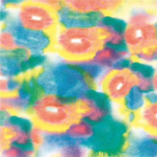 China Wool Flower Satin Print Fabric (XF-106)