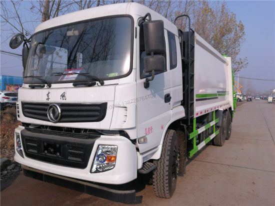 Dongfeng 6X4 Garbage Compactor Truck for Sale in Philippines