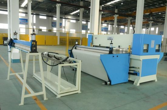 Automatic Feeding Continuous Cutting by Conveyo Belt Cutting Machine pictures & photos