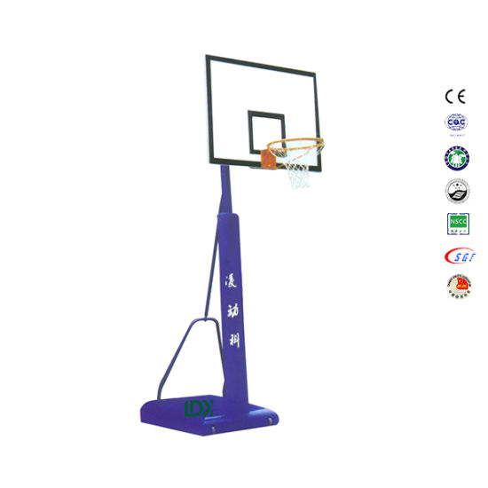 Height Adjustable SMC Backboard Portable Residential Basketball Goals pictures & photos