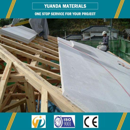 China Precast Concrete Aac Wall Panel Floor Panel Roof Panel