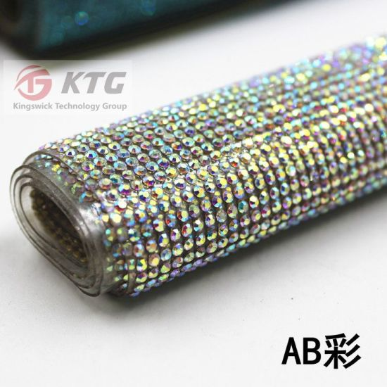 150381d1a13f Wholesale Glass Rhinestone Sticker Adhesive Sheet 24 40cm for Lady Shoe  Upper