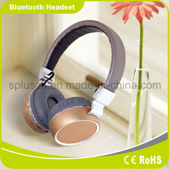 Factory Wholesale Bluetooth 4.1 Wireless Bluetooth Headphone Without Wire, Stereo Bluetooth Headset pictures & photos