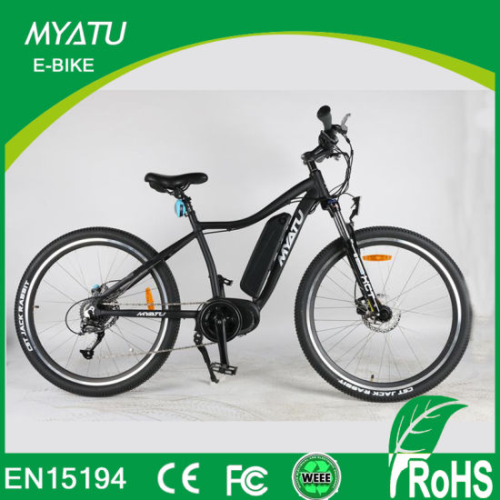 """27.5"""" Mountain Electric Bike with Bafang Max MID Central Motor Torque Sensor Fuction"""