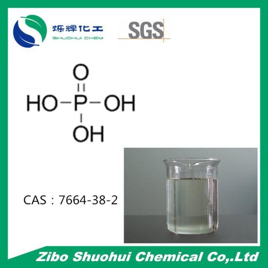 China H3po4 Phosphoric Acid Ortho Phosphoric Acid Cas 7664 38 2