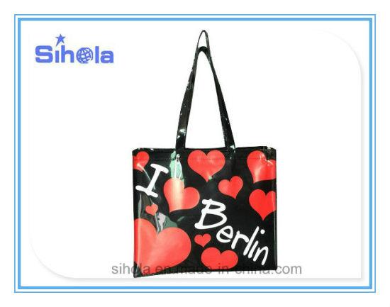 China Shining PVC Leather Tote Bag - China Women Bag eff11288a5805