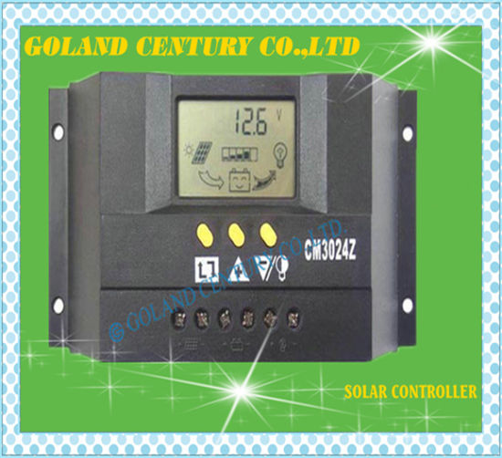 30A Wind Solar Hybrid Power Controller for off Grid Power Supply System pictures & photos