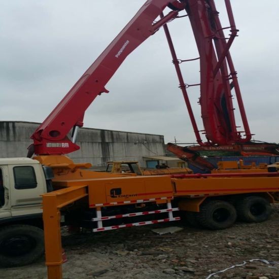 Second Hand Used Construction Equipment Machinery Putzmeister Germany Elephant Dump Truck