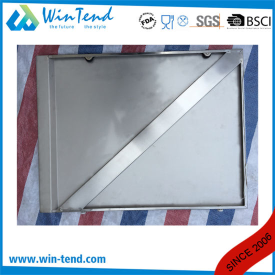 Customized Stainless Steel Robust Construction Enclosed Base Commercial Kitchen Cabinet with Height Adjustable Leg pictures & photos