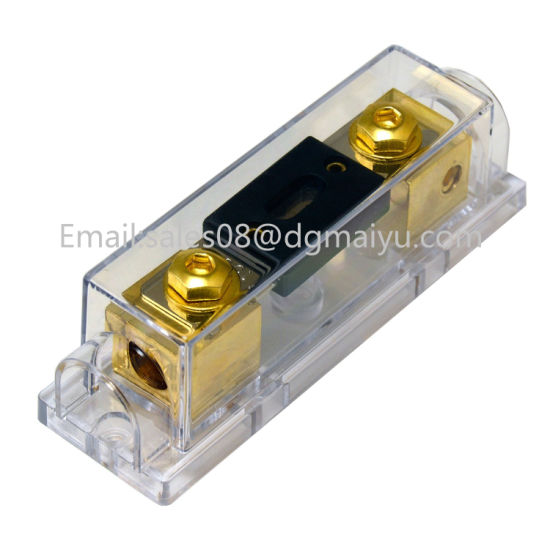 China 0/2/4 Gauge Ga Anl Fuse Holder + Anl Fuses Holder Distribution on agc fuse box, amp fuse box, hyundai fuse box, atc fuse box,