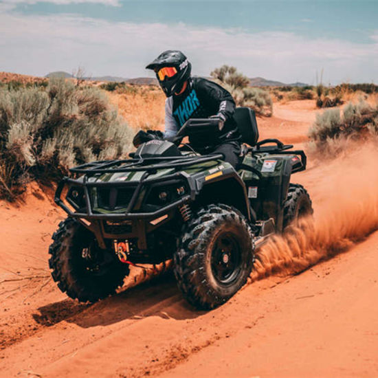 Four Wheeled Electric All Terrain Vehicle ATV pictures & photos