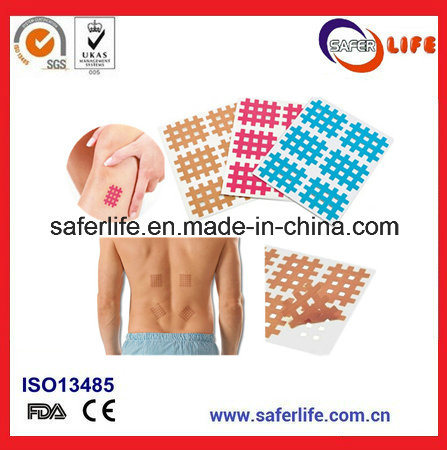 X Pain Bandage Waterproof Adhesive Endure Pain Tape Tearable Medical Acupuncture Bandage pictures & photos